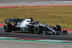 November 3, 2019, Austin, TX, USA: AUSTIN, TX - NOVEMBER 03: Mercedes AMG Petronas Motorsport driver Lewis Hamilton (44) of Great Britain exits a turn during the F1 - U.S. Grand Prix race at Circuit of The Americas on November 3, 2019 in Austin, Texas. (Photo by Ken Murray/Icon Sportswire) (Credit Image: © Ken Murray/Icon SMI via ZUMA Press)