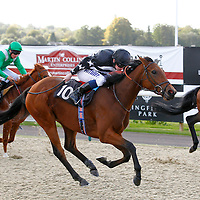Pira Palace and Ryan Moore winning the 2.00 race