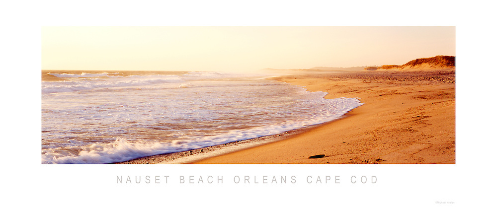 Nauset Beach Sunrise Orleans Cape Cod Panoramic Poster<br /> <br /> 10&quot; x 24&quot; Panoramic Poster  $20.00
