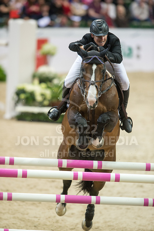 Shane Sweetnam (IRL) & Amaretto D'Arco - Gothenburg Trophy presented by Carpe Diem - Gothenburg Horse Show 2013 - Scandinavium, Gothenburg, Sweden - 27 April 2013