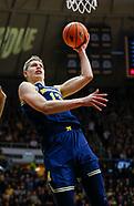 NCAA Basketball - Purdue Boilermakers vs Michigan Wolverines - West Lafayette, In