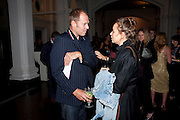 PAUL SIMONON; SAMANTHA MORTON, KM3D-1 Film screening made by Baillie Walsh of Kate Moss. Hosted by another magazine. Hanuch of Venison. London. 16 Septemebr 2010.  -DO NOT ARCHIVE-© Copyright Photograph by Dafydd Jones. 248 Clapham Rd. London SW9 0PZ. Tel 0207 820 0771. www.dafjones.com.