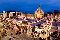 Der Nürnberger Christkindlesmarkt ist ein Weihnachtsmarkt und findet jährlich im Advent in der Altstadt von Nürnberg auf dem Hauptmarkt statt.