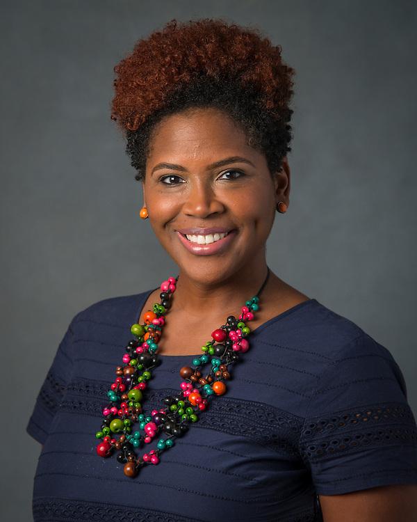 Mokysha Benford poses for a photograph, September 2, 2015.
