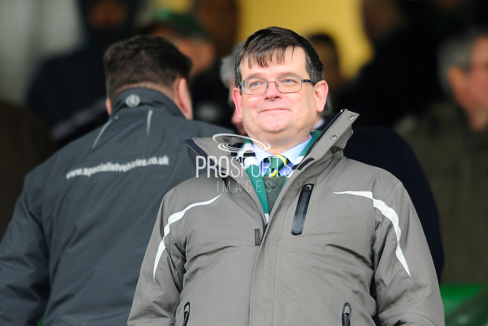 Plymouth Argyle owner James Brent before the Sky Bet League 2 match between Plymouth Argyle and Notts County at Home Park, Plymouth, England on 27 February 2016. Photo by Graham Hunt.