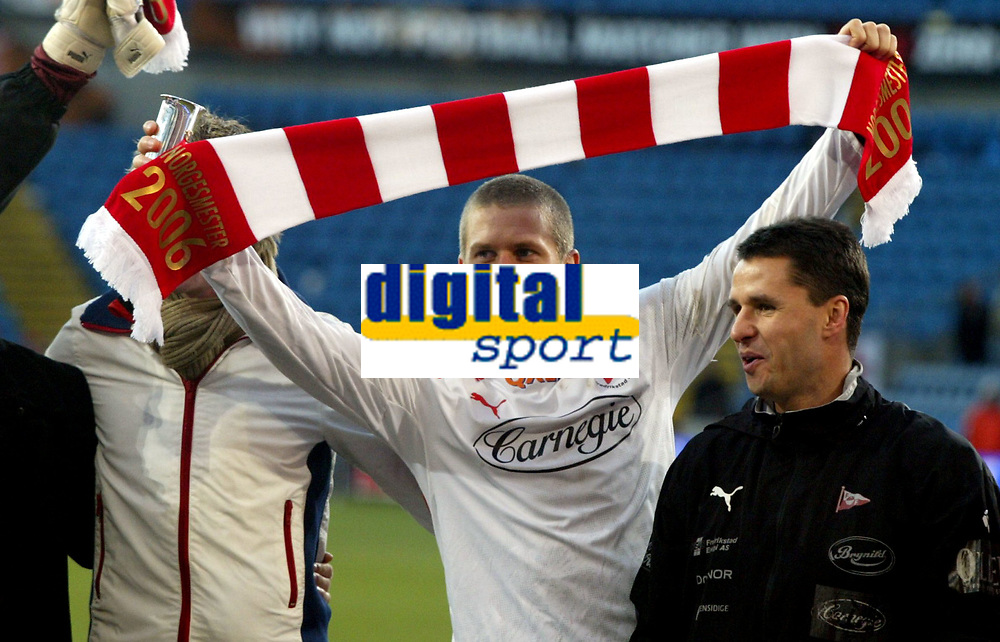 Fotball , 12. november 2006 , NM-finale , NM finale , Cupfinale , Sandefjord - Fredrikstad 3-0<br /> <br /> Patrik Gerrbrand , Fredrikstad
