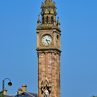Albert Memorial Clock in Belfast, Northern Ireland<br />