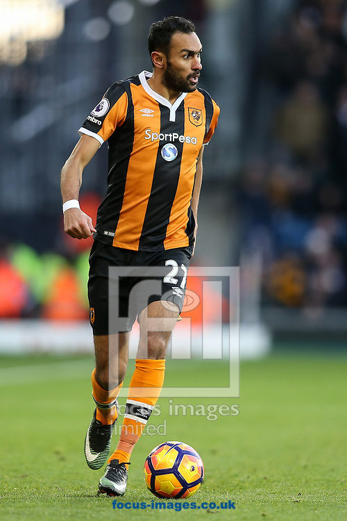 Ahmed Elmohamady of Hull City during the Premier League match at The Hawthorns, West Bromwich<br /> Picture by Andy Kearns/Focus Images Ltd 0781 864 4264<br /> 02/01/2017