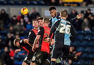 Wycombe Wanderers v Hartlepool - 03/01/2015