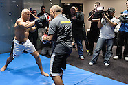UFC 105 Open Work-Outs