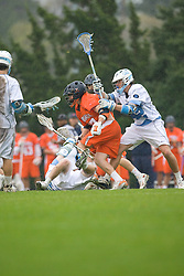 05 April 2008: Virginia Cavaliers midfielder Mike Thompson (17) during a 11-12 OT win over the North Carolina Tar Heels on Fetzer Field in Chapel Hill, NC.