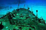 Bow, Oro Verde, Shipwreck, Grand Cayman