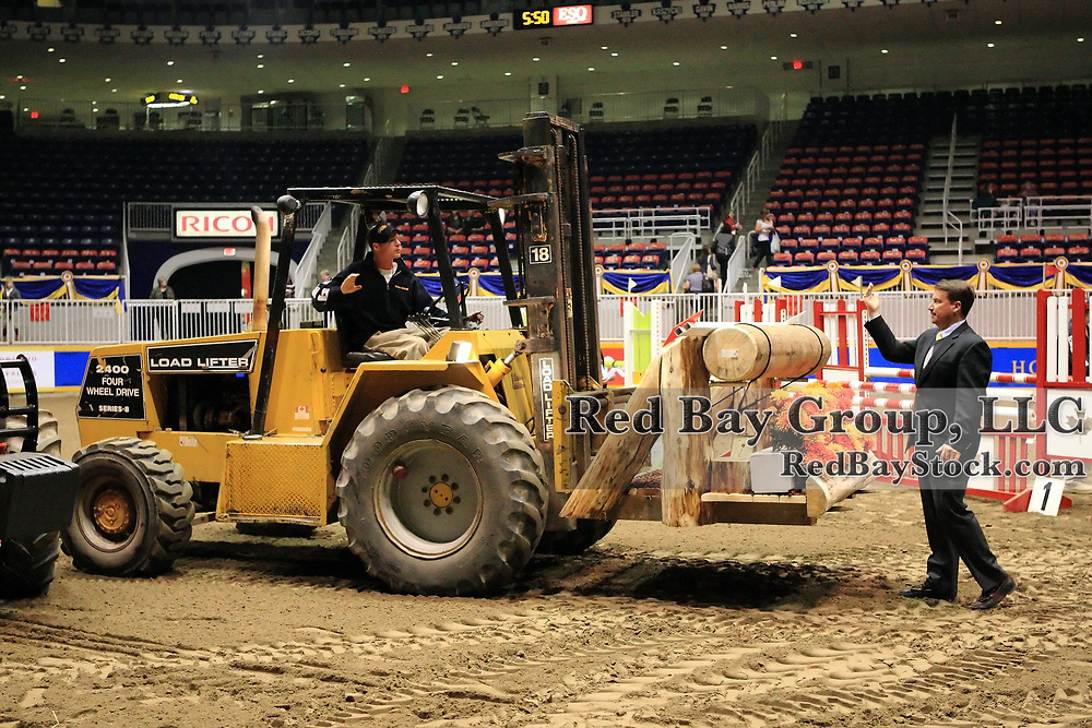Course build for the Good Crop Services Indoor Eventing during the 2009 Royal Agricultural Winter Fair, Toronto, ON