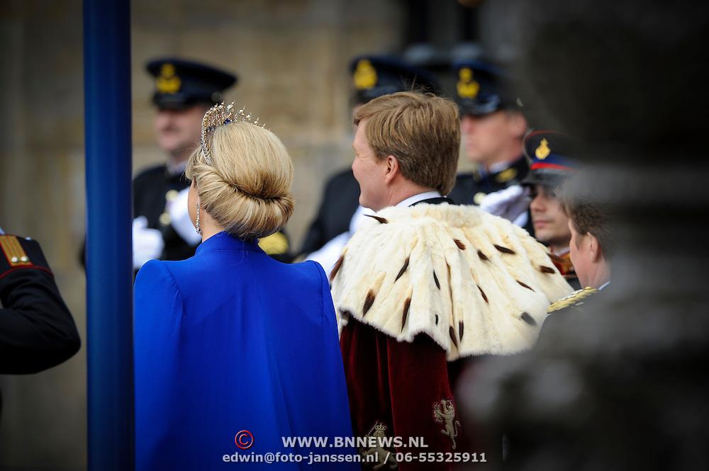 NLD/Amsterdam/20130430 - Inhuldiging Koning Willem - Alexander, king Willem - Alexander and Queen Maxima of the Netherlands
