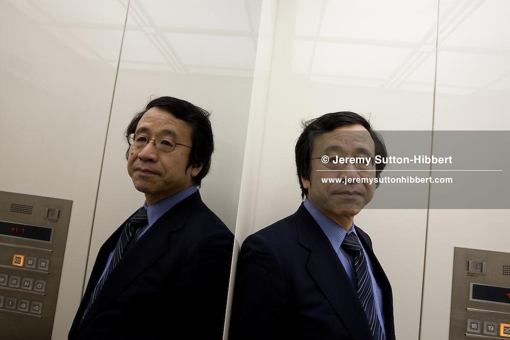 Jun Okumura, counselor for the Eurasia Group, Tokyo, Japan, 17th March 2010.