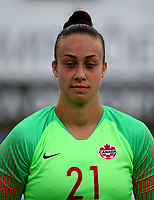 International Women's Friendly Matchs 2019 / <br /> Womens's Algarve Cup Tournament 2019 - <br /> Canada v Iceland 0-0 ( Municipal Bela Vista Stadium - Parchal,Portugal ) - <br /> Kailen Sheridan of Canada