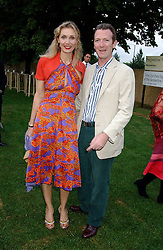 ASHLEY & ALLEGRA HICKS at the annual Serpentine Gallery Summer Party co-hosted by Jimmy Choo shoes held at the Serpentine Gallery, Kensington Gardens, London on 30th June 2005.<br /><br />NON EXCLUSIVE - WORLD RIGHTS