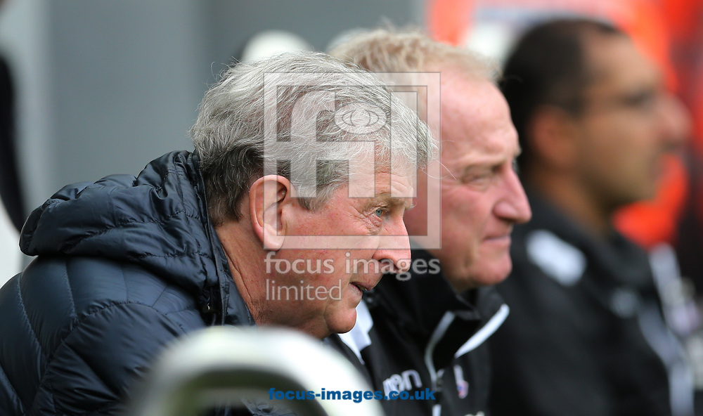 Crystal Palace manager Roy Hodgson prior to the Premier League match at St. James's Park, Newcastle<br /> Picture by Simon Moore/Focus Images Ltd 07807 671782<br /> 21/10/2017
