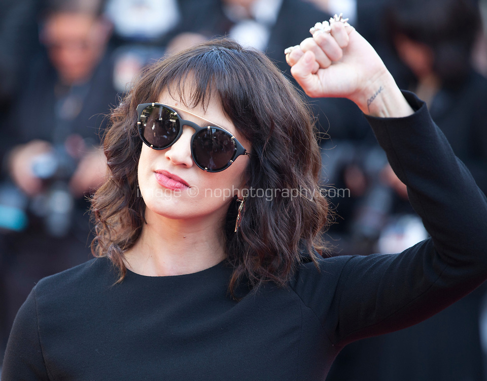 Asia Argento at the Award Ceremony and The Man Who Killed Don Quixote at the The Man Who Killed Don Quixote gala screening at the 71st Cannes Film Festival, Saturday 19th May 2018, Cannes, France. Photo credit: Doreen Kennedy