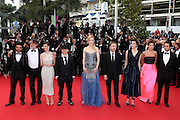 14.MAY.2014. CANNES<br /> <br /> CODE - CP<br /> <br /> DIRECTOR OLIVIER DAHAN, ACTORS TIM ROTH, NICOLE KIDMAN, JEANNE BALIBAR, PRODUCER PIERRE-ANGE LE POGAM, GUESTS, ACTRESS PAZ VEGA, SCREENWRITER AND PRODUCER ARASH AMEL ATTEND THE OPENING CEREMONY AND THE 'GRACE OF MONACO' PREMIERE DURING THE 67TH ANNUAL CANNES FILM FESTIVAL<br /> <br /> BYLINE: EDBIMAGEARCHIVE.CO.UK<br /> <br /> *THIS IMAGE IS STRICTLY FOR UK NEWSPAPERS AND MAGAZINES ONLY*<br /> *FOR WORLD WIDE SALES AND WEB USE PLEASE CONTACT EDBIMAGEARCHIVE - 0208 954 5968*
