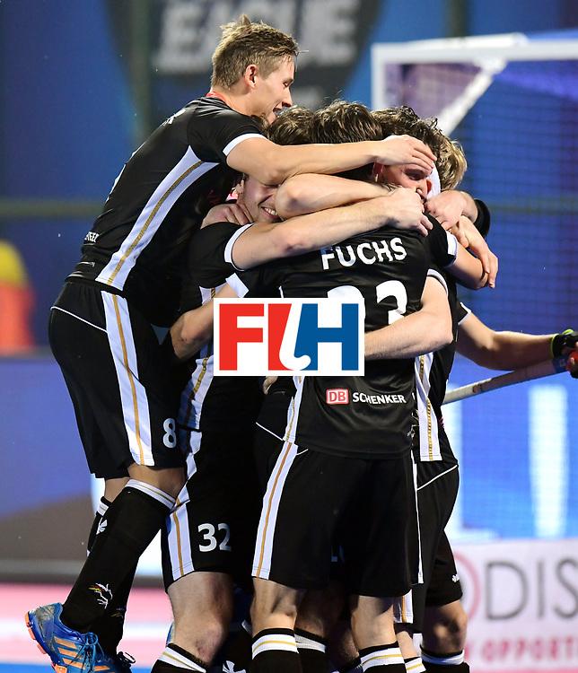 Odisha Men's Hockey World League Final Bhubaneswar 2017<br /> Match id:16<br /> Germany v Netherlands<br /> Foto: Shoot Out <br /> Germany wins the shoot out<br /> COPYRIGHT WORLDSPORTPICS FRANK UIJLENBROEK