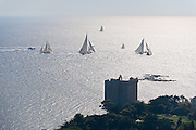Regattes Royales de Cannes September 2010 from the air