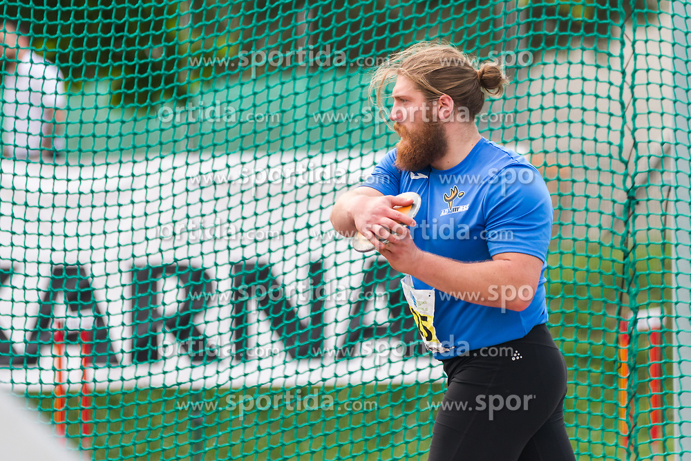 Blaz Zupancic competes during day 2 of Slovenian Athletics Cup 2019, on June 16, 2019 in Celje, Slovenia. Photo by Peter Kastelic / Sportida