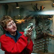 Foto voor dierendag 2000, leguaan fam. Jonker Reiderland 11 Huizen