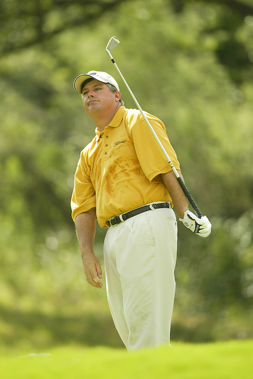 Paul Goydos..2003 Valero Texas Open..Westin La Cantera Resort..San Antonio, TX..Saturday, September 27 2003..photograph by Darren Carroll