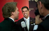 AMSTERDAM - Dorian van Rijsselberghe  De verkiezing van de sporters van het jaar tijdens het NOC*NSF Sportgala in de RAI.  COPYRIGHT ROBIN UTRECHT