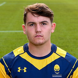 Beck Cutting of Worcester Warriors - Mandatory by-line: Robbie Stephenson/JMP - 25/08/2017 - RUGBY - Sixways Stadium - Worcester, England - Worcester Warriors Headshots