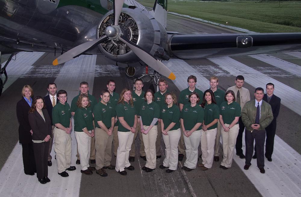 15788       Flight Team Group Photo