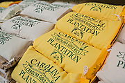 Carolina Gold Rice at the Historic Charleston City Market on Market Street in Charleston, SC.