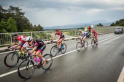 Bozic Jon (Slovenia) of Adria Mobil, Finkst Tilen of Radenska Ljubljana during Stage 1 of 23rd Tour of Slovenia 2016 / Tour de Slovenie from Ljubljana to Koper/Capodistria (177,8 km) cycling race on June 16, 2016 in Slovenia. Photo by Vid Ponikvar / Sportida