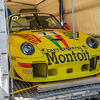 #68, Porsche 993, GT2 Evo (1997), drivers: Jean-Francois Piquet, Alain Triniane, on 08/07/2018 at the Le Mans Classic, 2018