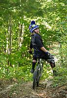 Highland Mountain Bike Park in Northfield, NH.  ©2015 Karen Bobotas Photographer