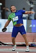 Daniel Stahl (SWE) wins the discus at 231-6 (70.56m) during the IAAF Doha Diamond League 2019 at Khalifa International Stadium, Friday, May 3, 2019, in Doha, Qatar