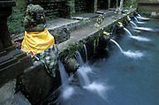 INDONESIA:  Bali..Temple of Pura Tirta Empul, where holy waters are said to have great healing power