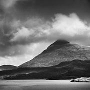 Ardvreck Castle, Loch Assynt, Sutherland.