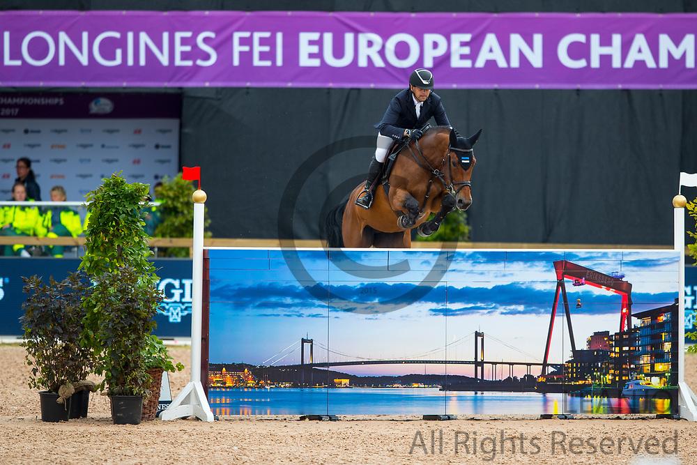 Urmas Raag - Ibelle van de Grote Haart<br /> FEI European Championships Gothenburg 2017<br /> &copy; DigiShots