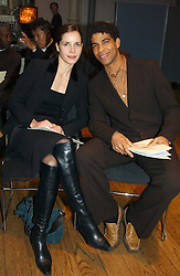 Ballerina DARCEY BUSSELL and Dancer CARLOS ACOSTA at The Critic's Circle National Dance Awards 2005 held at The Royal Opera House, Covent Garden on 19th January 2006.<br />