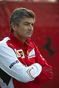 April 20, 2014 - Shanghai, China. UBS Chinese Formula One Grand Prix. Ferrari team principle, Marco Mattiacci