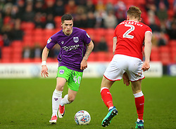 Ryan Kent of Bristol City takes on Jason McCarthy of Barnsley - Mandatory by-line: Robbie Stephenson/JMP - 30/03/2018 - FOOTBALL - Oakwell Stadium - Barnsley, England - Barnsley v Bristol City - Sky Bet Championship
