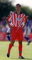 Mark Burrows (Exeter City) Exeter City v Everton, Pre-Season Friendly, 5/08/2000. Credit: Colorsport / Matthew Impey