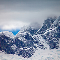 The Darwin Mountains, Tierra del Fuego