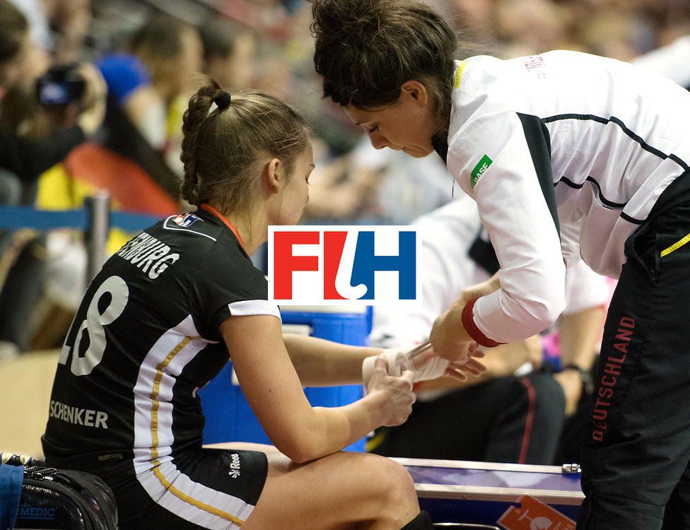 BERLIN - Indoor Hockey World Cup<br /> Final: Netherlands - Germany<br /> foto: Lisa Altenburg  <br /> WORLDSPORTPICS COPYRIGHT FRANK UIJLENBROEK