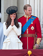 Princess Diana, Kate Middleton - Trooping Retrospect