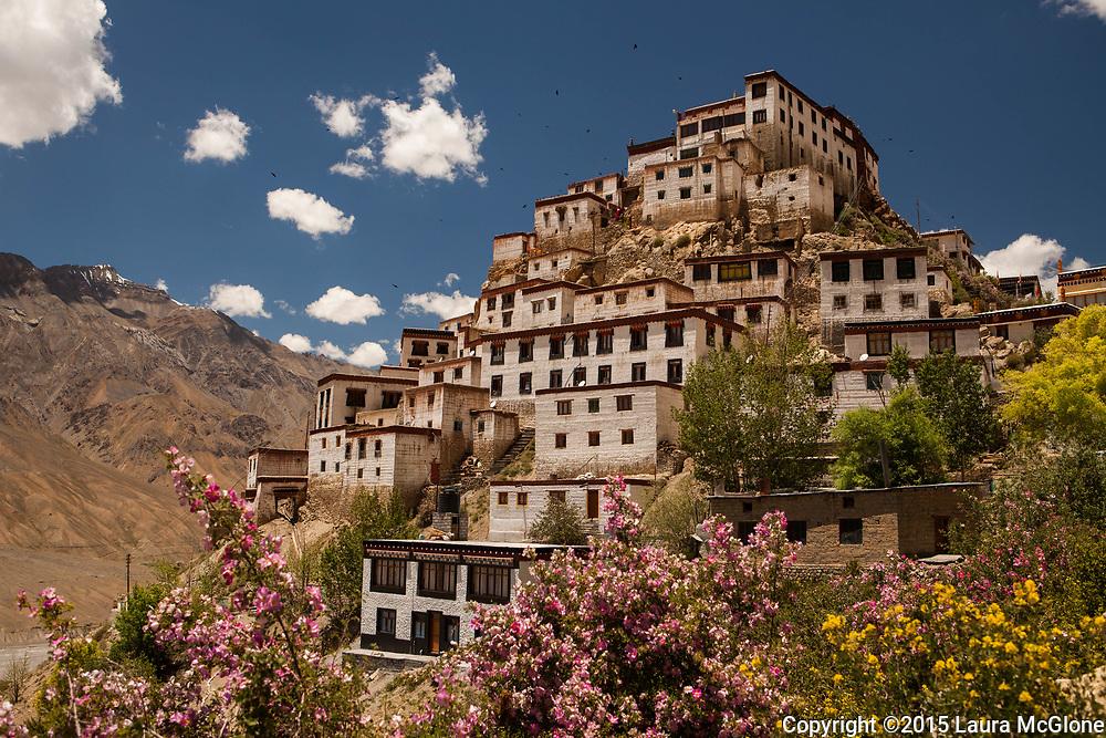 Kye Tibetan Buddhist Monastery Monastery in Spiti Valley, India