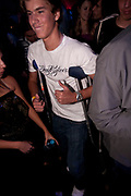 YOUNG MALE CLUBBER ON CRUTCHES