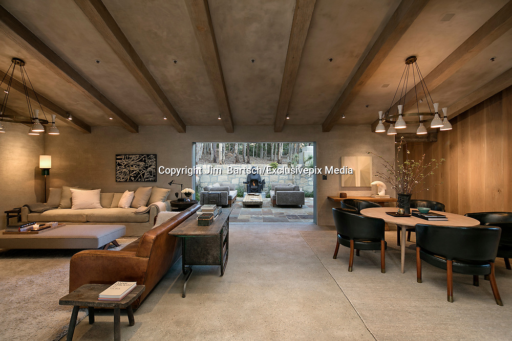 Ellen DeGeneres and Portia de Rossi list stunning sprawling Santa Barbara estate that they planned to grow old in... for $45m<br /> <br /> Ellen DeGeneres and Portia de Rossi have listed their jaw dropping Santa Barbara, California, estate for $45 million.<br /> <br /> The Tuscan mansion - or The Villa as it is known - has long been the jewel in the couple's real estate crown.<br /> <br /> But despite Ellen once describing the property as their 'forever' home and even dedicating a good portion of a book to talking about the space she created there, the couple are now selling up.<br /> <br /> Located in the more than just well to do area of Montecito - their neighbors include Oprah Winfrey, Al Gore and Rob Lowe - the property is an exquisite example of rustic yet refined living.<br /> <br /> The home blends old world charm with marvelously minimalistic modern elements thanks to the original architect and then Ellen's passion for interior design and indoor/outdoor living.<br /> <br /> The 59-year-old host and her 44-year-old wife, known for their house flipping, purchased the property for $26.5 million in 2013 and subsequently bought two adjacent properties so that the estate's land is now almost 17 acres.<br /> <br /> The home itself has six bedrooms and six full and two half baths spread across 10,500-square-feet.<br /> <br /> That does not include the specially constructed Jordan Hall which the couple had built so that they had an indoor-outdoor pavilion to relax and entertain.<br /> <br /> The original home was designed and built in the 1930s by architect Wallace Frost.<br /> ©Jim  Bartsch/Exclusivepix Media